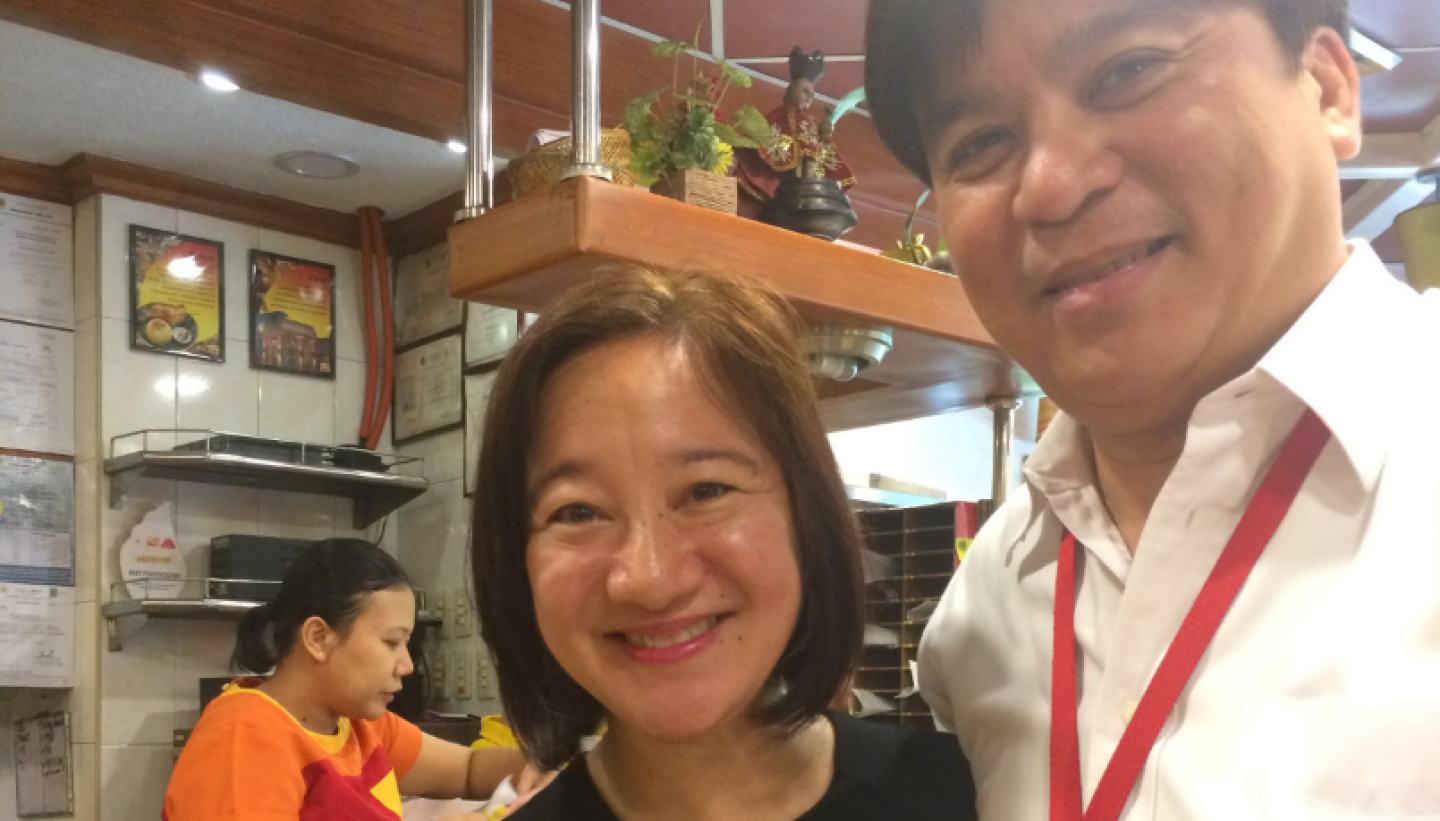 Congratulatory lunch with Dr Rey Canlas sports psychologist feat