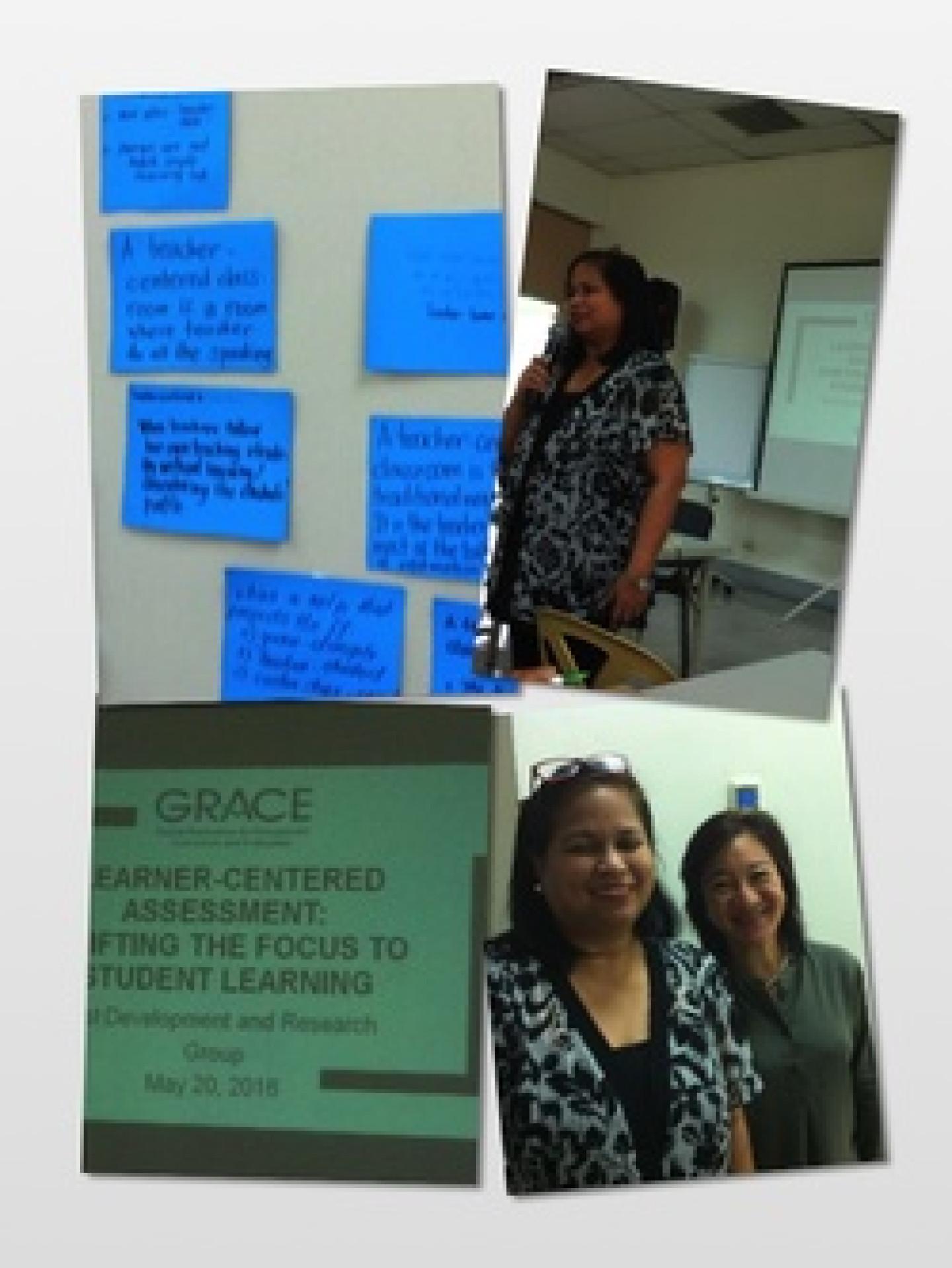 Training under DLSU Professor Maeyet Lapena feat